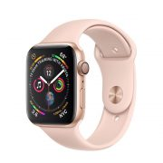 Watch Series 4 (40mm), Gold, Pink Sand Sport Band