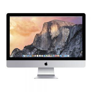 "iMac 27"" Retina 5K Late 2015 (Intel Quad-Core i5 3.2 GHz 8 GB RAM 512 GB SSD), Intel Quad-Core i5 3.2 GHz, 8 GB RAM, 1 TB Fusion Drive"
