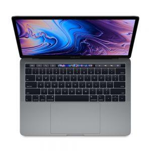 """MacBook Pro 13"""" 4TBT Mid 2019 (Intel Quad-Core i5 2.4 GHz 16 GB RAM 512 GB SSD), Space Gray, Intel Quad-Core i5 2.4 GHz, 16 GB RAM, 512 GB SSD"""
