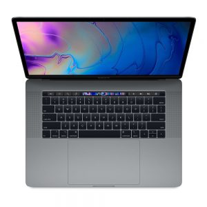 """MacBook Pro 15"""" Touch Bar Mid 2018 (Intel 6-Core i7 2.6 GHz 32 GB RAM 512 GB SSD), Space Gray, Intel 6-Core i7 2.6 GHz, 32 GB RAM, 512 GB SSD"""